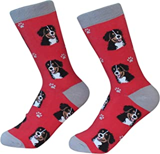 Bernese Mt. Dog Socks - Soft and Comfortable - One Size Fits Most - Unisex