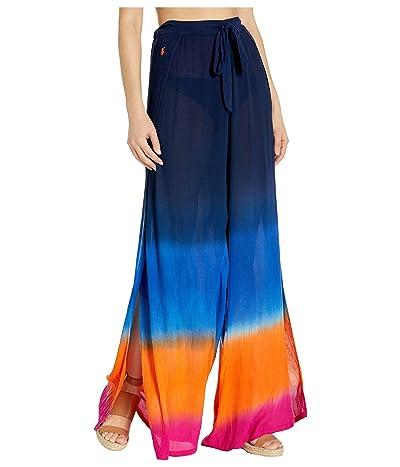 Polo Ralph Lauren Dip-Dye Fly Away Pants Cover-Up (Multi) Women