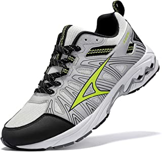 Mens Road Trail Running Walking Shoes Athletic Gym...