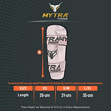 Mytra Fusion Shin Pad Shin Guard Shin Protector for Training Protection & Workout