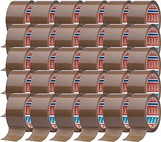 tesa 64014 Klebeband Paketklebeband Packband 66m x 50mm 30 Rollen, Braun