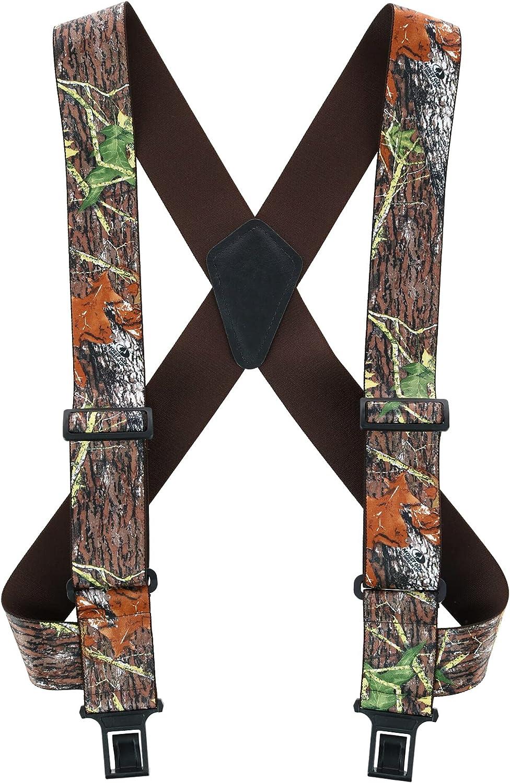 Perry Suspenders Men's Camouflage Print Undergarment Trucker Suspenders