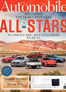 Automobile Magazine 2017 ALL-STARS: WE CROWN THE YEAR'S BEST CARS By Design: Kia's Stinger Sedan Is Emblematic Of How Far Korea Has Come