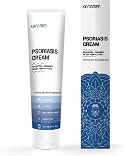Psoriasis Cream Extra Strength with Hemp & Honey Extract | Eczema Cream for Adults & Baby Eczema Lotion | Rosacea Skin Car...