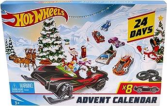 Hot Wheels FYN46 Christmas Advent Calendar 2019, Cars and Accessories