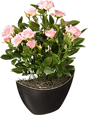 Vickerman F12228 Light Pink Rose Everyday Floral