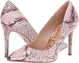Pink Multi Bahamas Snake Print Leather