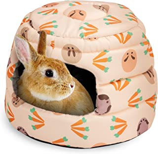 Best Niteangel Guinea Pig Bed Big Hide-Out for Rabbit Ferret Chinchilla Bunny and Other Small Animals Review