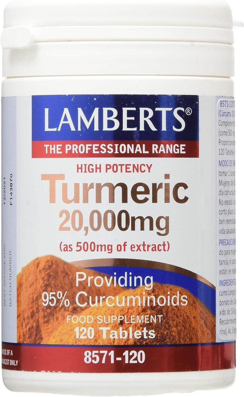 Lamberts Curcuma 20000Mg - 120 Tabletas