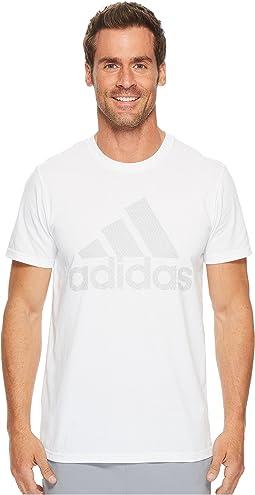 adidas - Badge of Sport Metal Mesh Tee