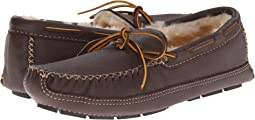 Minnetonka - Sheepskin Lined Moose Slipper
