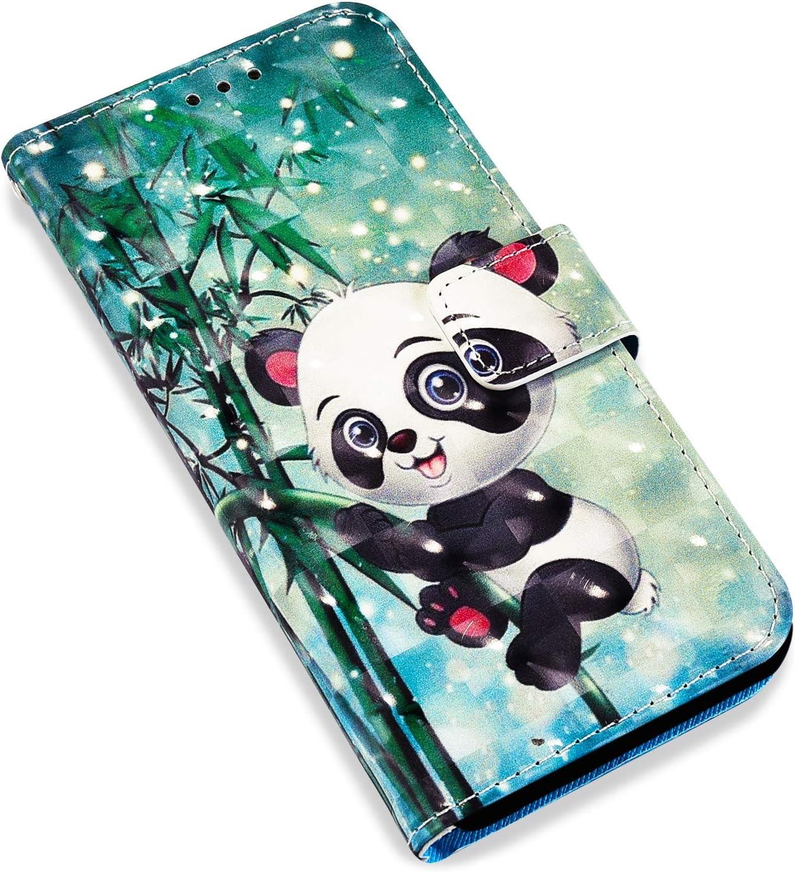 Uposao Coque pour Samsung Galaxy S9 Cuir Housse /Étui de Protection,Glitter Coque Pochette Portefeuille Etui /à Rabat Magn/étique Clapet 3D Effet Imprim/é Color/é Motif Anti-Choc Cover,Attrape-r/êves