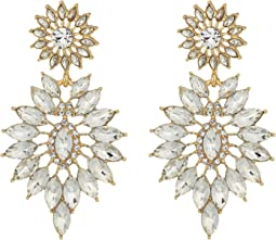 GUESS - Starburst Stone Statement Earrings
