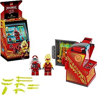 LEGO Ninjago - Cabina de Juego: Avatar de Kai, Set de Construcción de Máquina Arcade Coleccionable con Minifigura de Kai, Juguete de Prime Empire, a Partir de 7 Años (71714)
