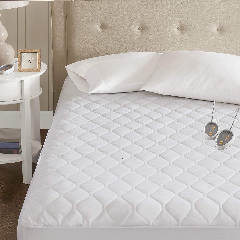 Beautyrest 3M Scotchgard Heated Tulsa Mall Mattress-Pad Comfort Popular overseas Secure Tech