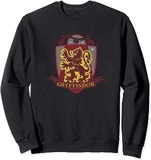 Harry Potter Gryffindor Quidditch Crest Sweatshirt