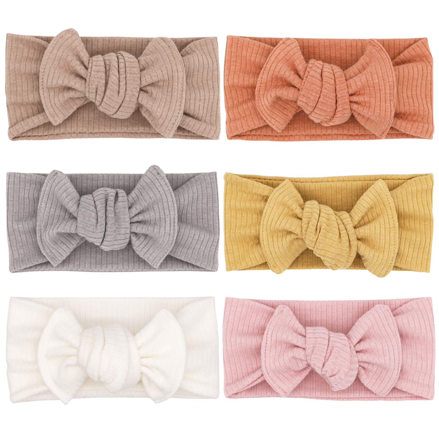 Baby Girls Under blast sales Headbands Direct store with Bows Headwrap Acce Hair Toddler Infant