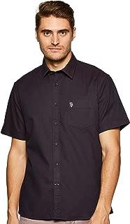 US Polo Association Men's Solid Regular fit Casual Shirt
