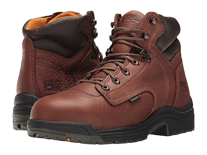 Timberland PRO  TITAN 6 Alloy Safety Toe (Coffee Full-Grain Leather) Mens Work Lace-up Boots
