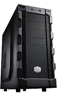 Cooler Master RC-K280 - Caja para Ordenador de sobremesa ATX (Altavoces incorporados, Indicadores LED), Negro