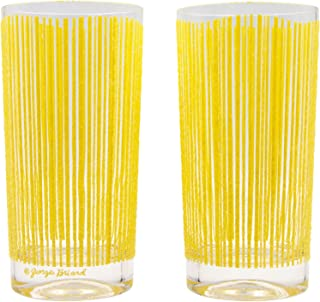 Georges Briard Icicle Highball Glass (Set of 2)