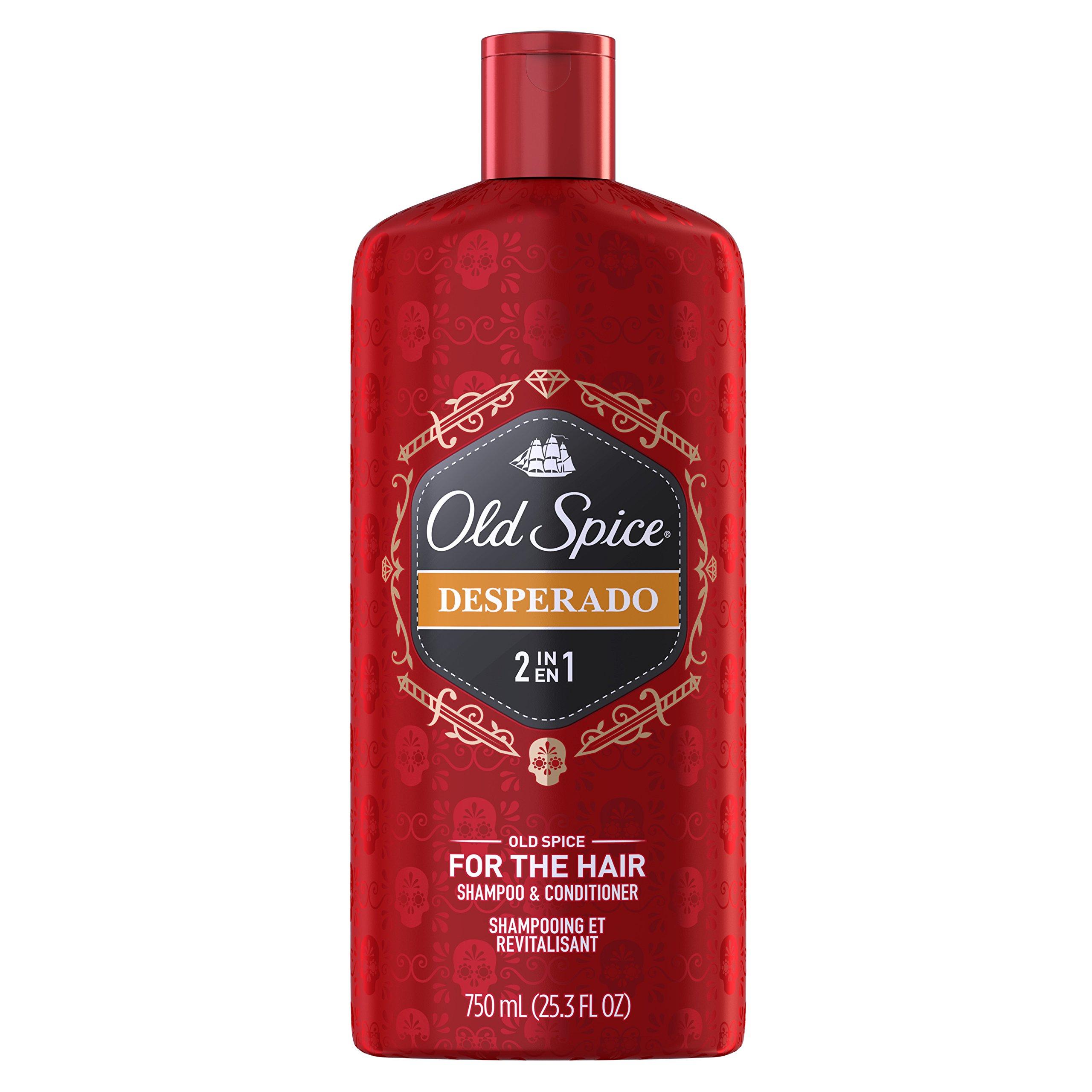 Old Spice 2 合 1 男士洗发水和护发素,Bearglove,12 盎司(6 支装) 25.3 Ounce