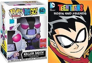 Killer Moth Teen Titans Episodes DVD Robin & Friends Cartoon Figure Pack DC Power Comic pop collectible