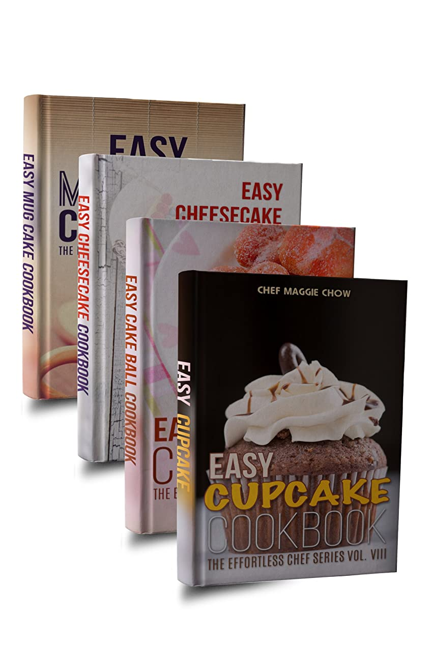 研究所モットー超えるEasy Cake Cookbook Box Set: Easy Cupcake Cookbook, Easy Mug Cake Cookbook, Easy Cake Ball Cookbook, Easy Cheesecake Cookbook (Cake Recipes, Cake Cookbook, ... Mug Cake Recipes 1) (English Edition)