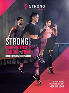 STRONG by Zumba High-Intensity Cardio and Tone 60 min Digital Workout featuring Michelle Lewin