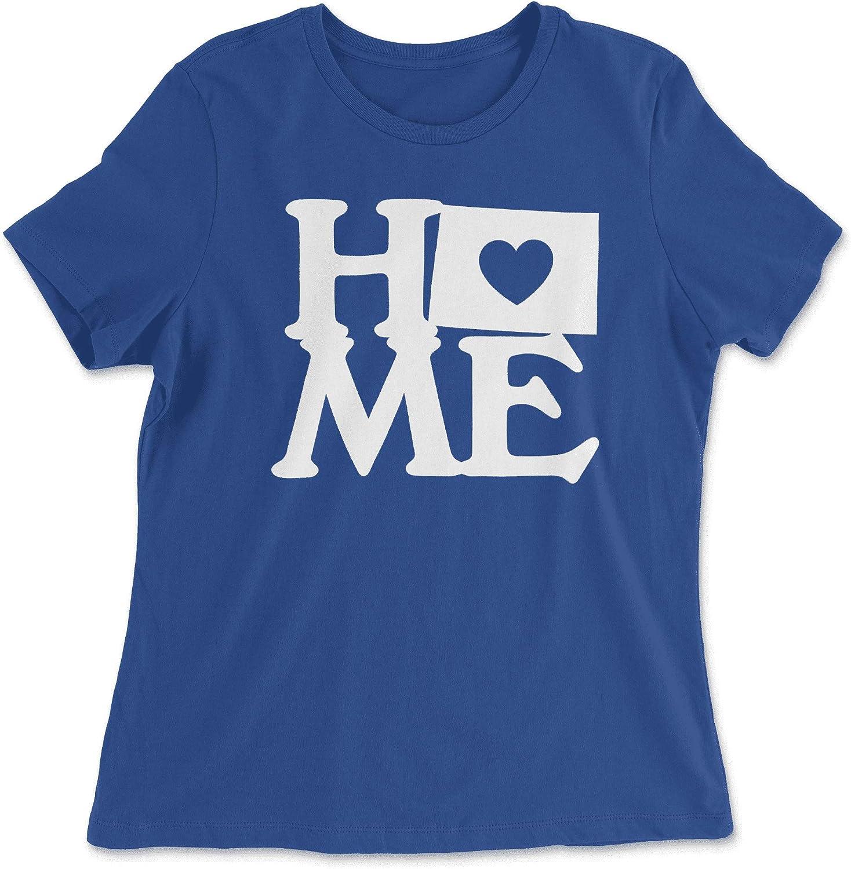 HARD EDGE DESIGN Women's Colorado Home State T-Shirt