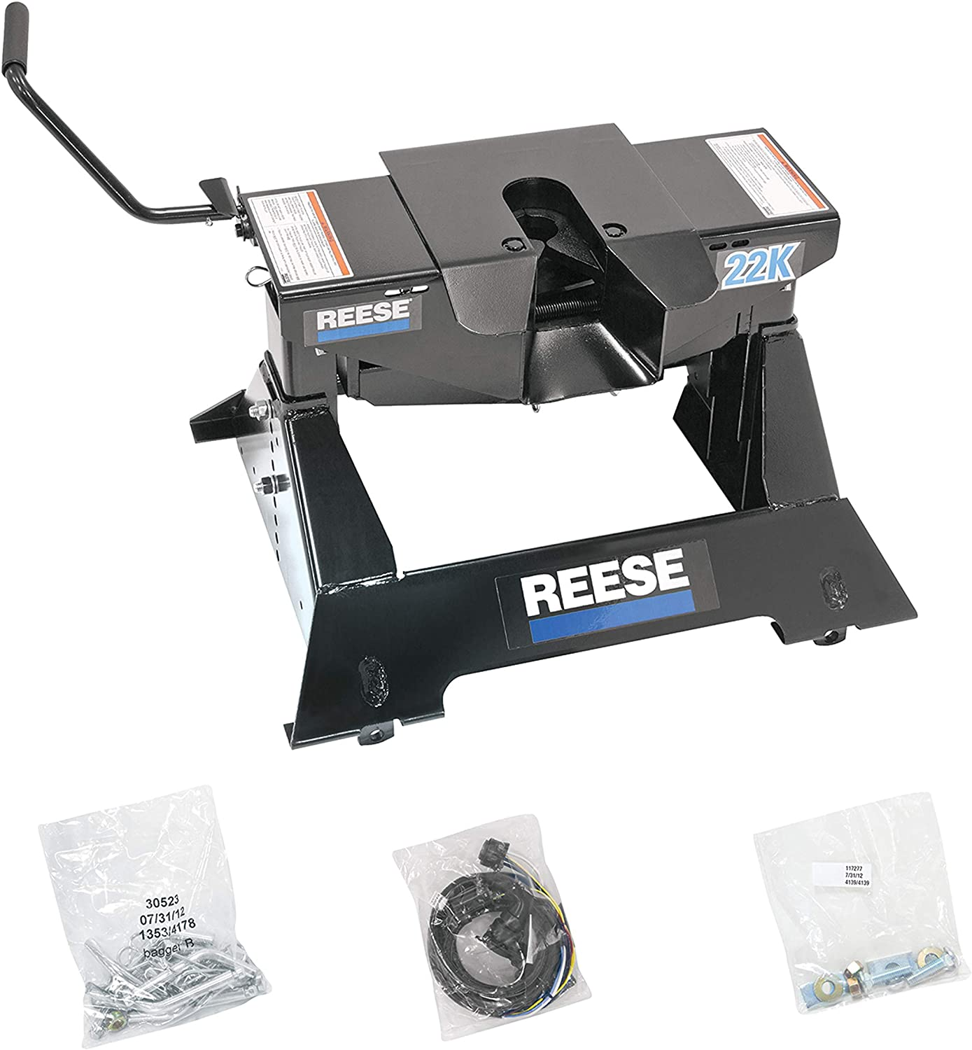 Reese Charlotte Mall Towpower 30033 22K Assembly Hitch Wheel free Fifth