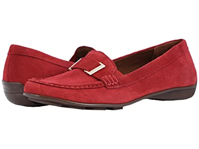 Walking Cradles March (Red Suede) Women