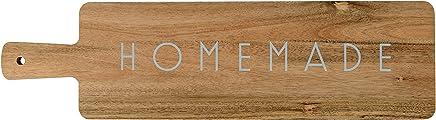 Bloomingville A40701429 Homemade Acacia Wood Cutting Board, Brown