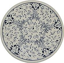 Turkceramics Hand-Crafted Turkish Round Ceramic Coaster (9 cm x 9 cm x 0.5 cm, OMMC9C-MIX3)