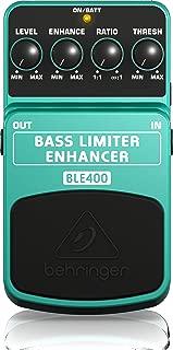 Behringer Bass Limiter Enhancer BLE400 Ultimate Dynamics Effects Pedal