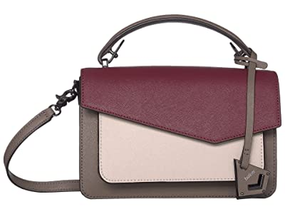 Botkier Cobble Hill Crossbody (Antic Cordovan) Cross Body Handbags