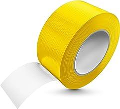 Tape-King Pantsertape, 50 m x 48 mm, geel, waterbestendig, extreme kleefkracht, corrigeerbare pantserband, handscheurbaar,...
