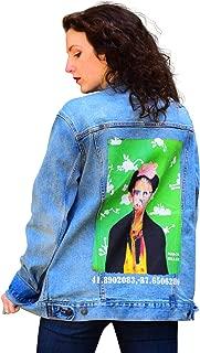 Best frida kahlo denim jacket Reviews
