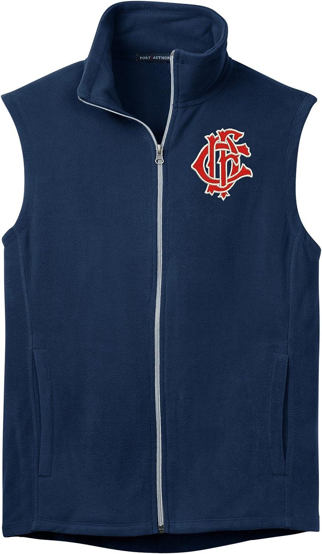 Port Authority Men's Chicago Fire Department Logo Microfleece Vest