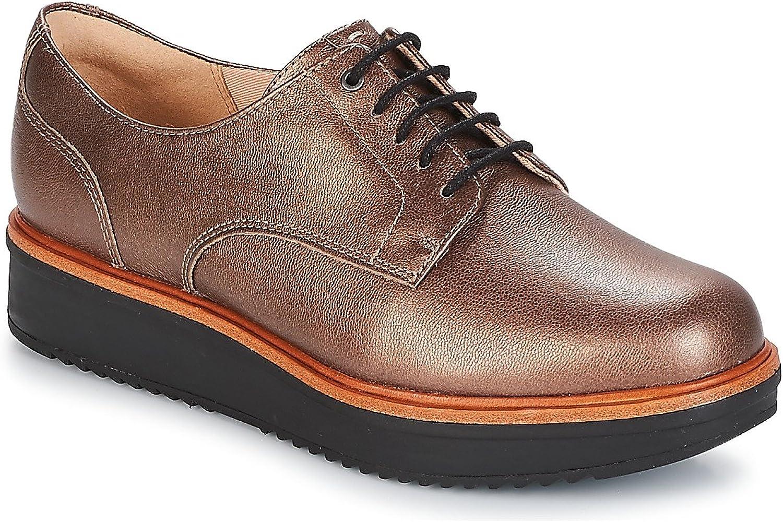 Clarks damen TEADALE TEADALE TEADALE Dark Derby-Schuhe  e55906