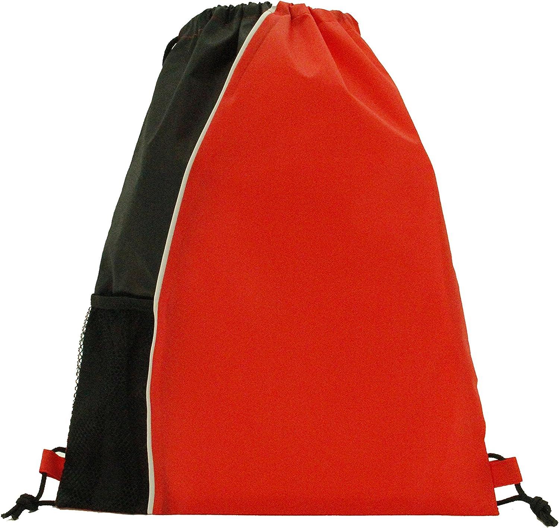 White Trim Mesh Max 51% OFF Pocket Max 84% OFF Sport Backpack Multic Drawstring