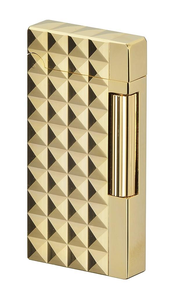 プランター慢性的結婚式SAROME(サロメ) フリント ガス ライター SD6A-13 ゴールド0.2μ/ダイヤモンドヘッド SD6A-13