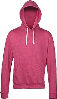 Awdis Adults Unisex Heather Hooded Sweatshirt/Hoodie