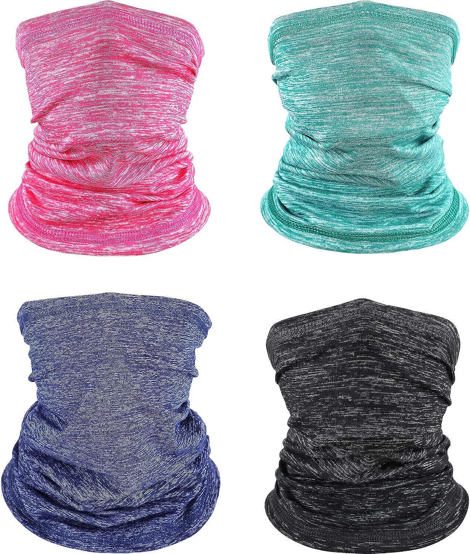Kids Summer UV Sun Protection Face Cover Neck Gaiter Headwear...