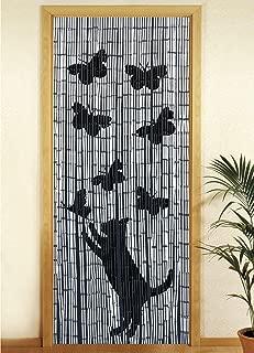 Wenko Cortina de bambú 90 x 200 cm