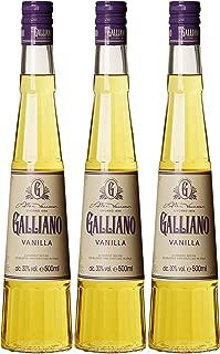 Galliano Vanilla Likör 3 x 0.5 l