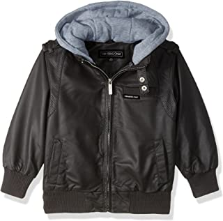Members Only Boys' Vegan Leather Iconic Jacket