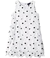 Oscar de la Renta Childrenswear - Polka Dot Dress (Little Kids/Big Kids)