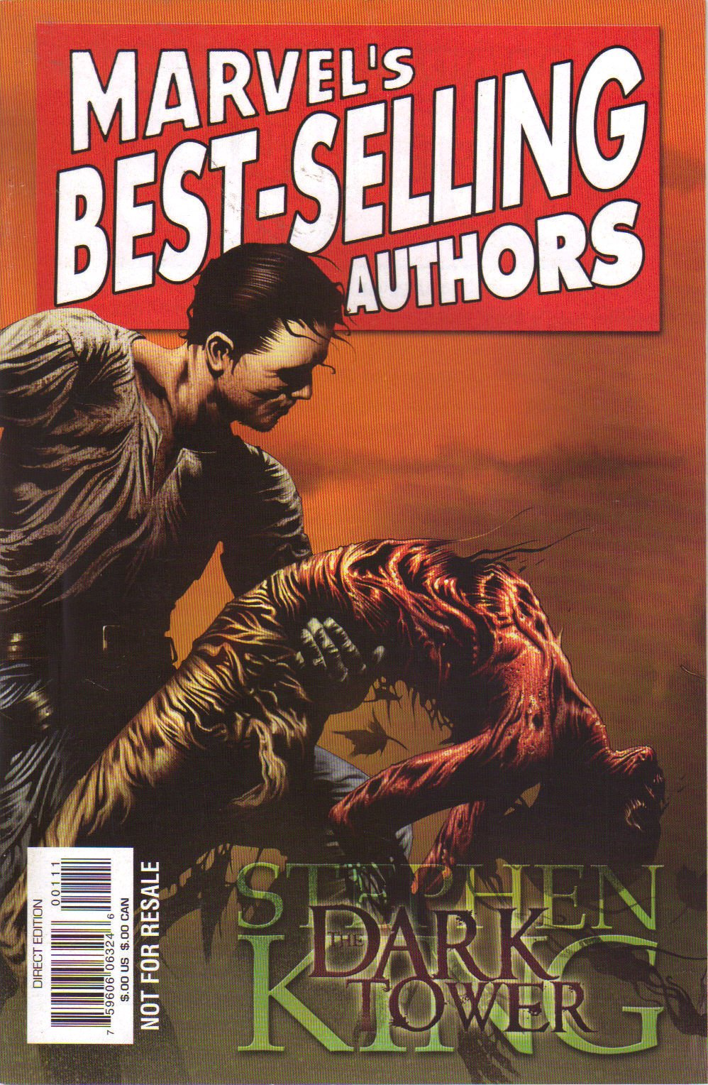 marvel's best selling author's (stephen king the dark tower)