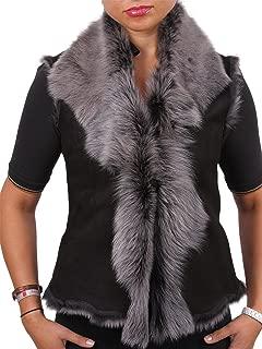 Womens Leather Toscana Gilet Genuine Sheepskin